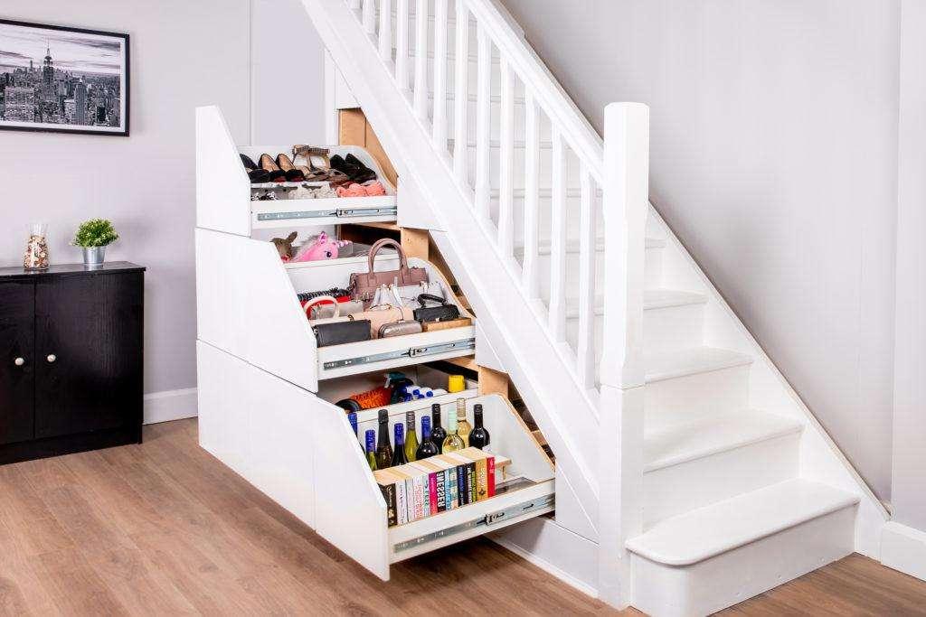 Under Stair Storage Clever Closet