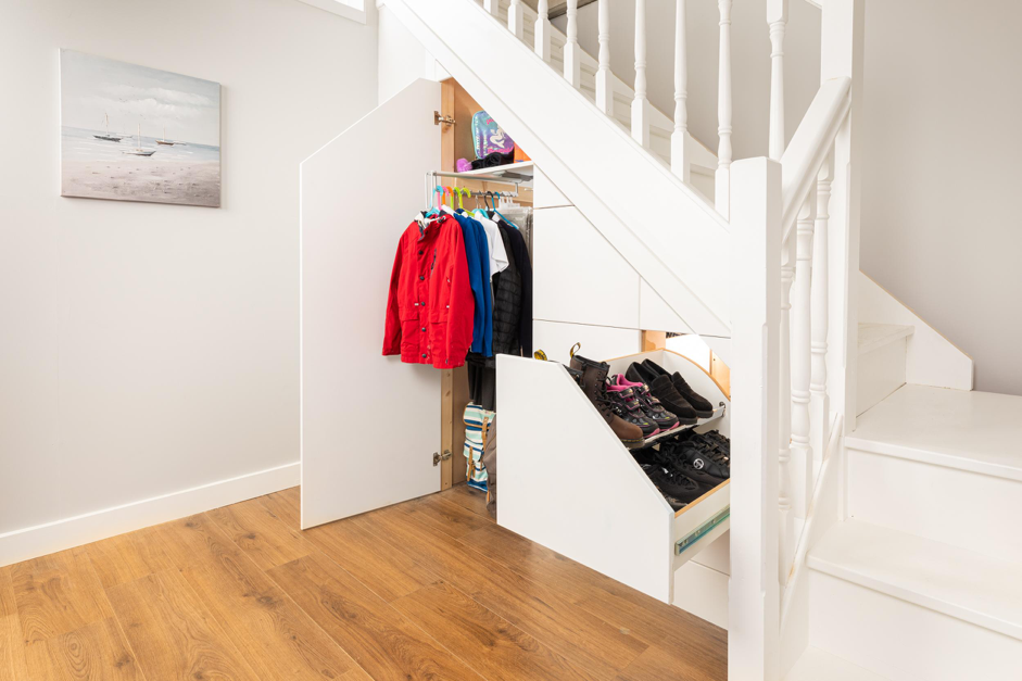 Three Drawer Tall Boy - Under Stairs Storage for School Bags, Uniform, Sports Gear and Books