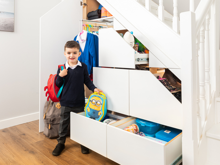 Back to school storage with Clever Closet