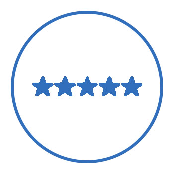 5 Star Rating on Trustpilot